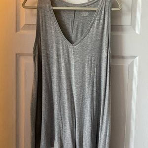 Lane Bryant A line V neck swing tank 14/16 EUC!